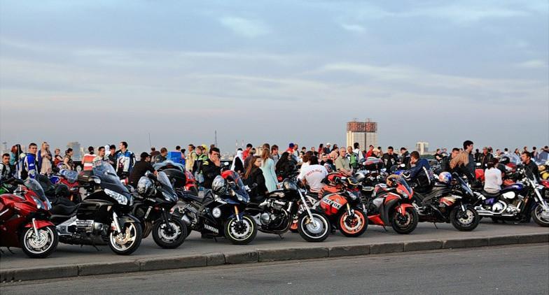 Мотоциклетная Москва в 2020